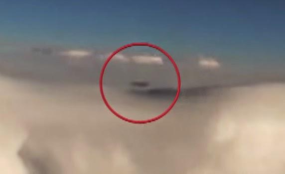 UFO Terlihat Oleh Pesawat Air France
