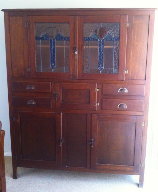 Lilyfield Life Wooden Vintage Kitchen Dresser