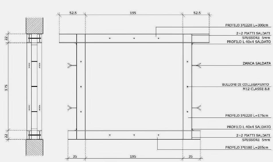 Apertura di vani in muratura portante parte 3 la - Apertura di una porta in un muro portante interno ...