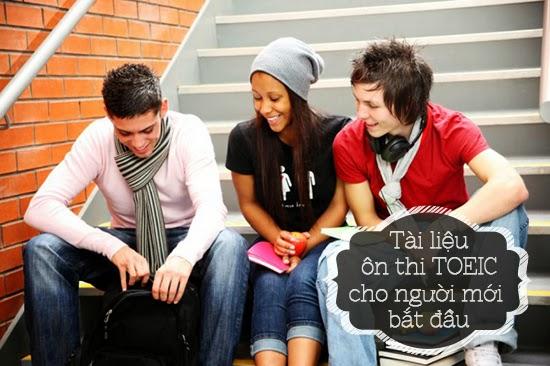 Tìm hiểu các tài liệu ôn thi toeic cho người mới bắt đầu www.c10mt.com