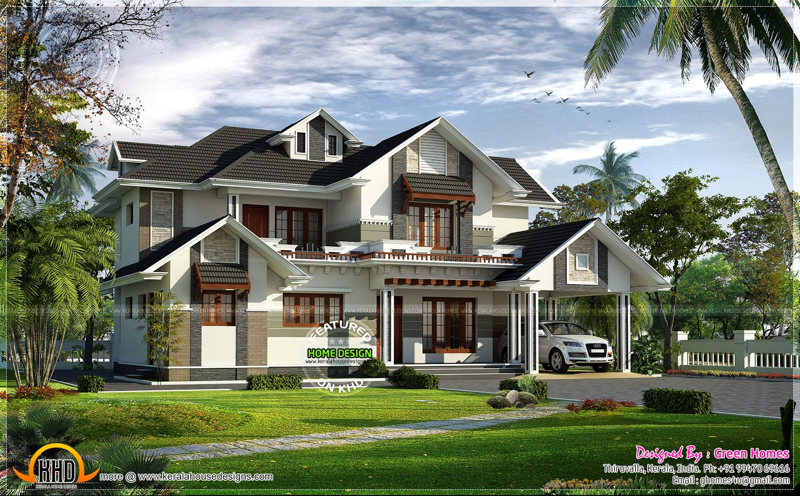 17 best photo of angled roof designs ideas building for Slanted roof house plans
