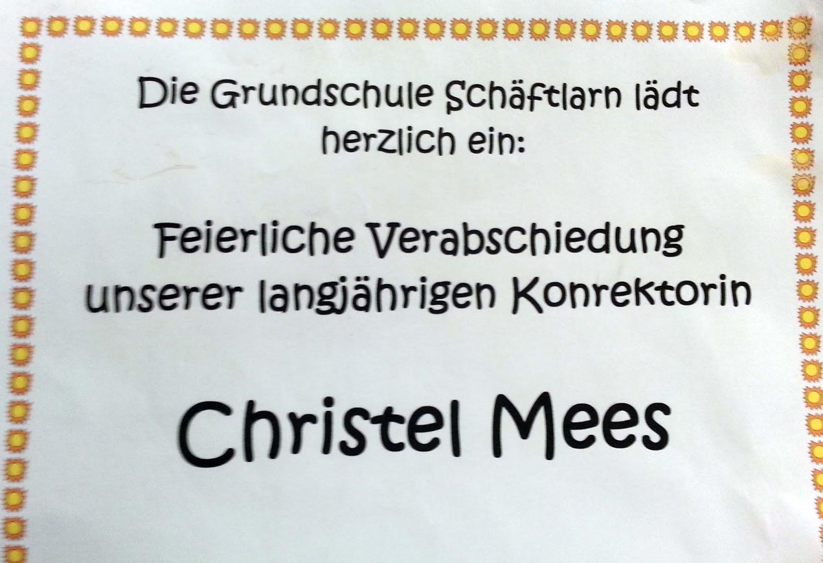 Bürgermeister Ruhdorfer Schäftlarn: Verabschiedung von Frau Mees