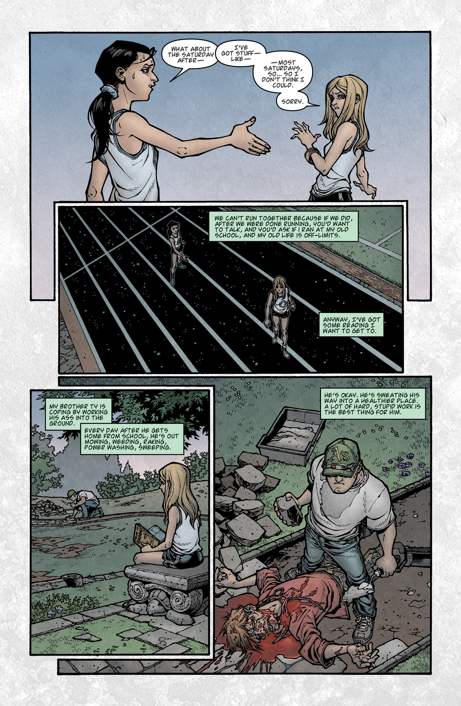 Locke & Key (2008) Issue #3 #3 - English 11