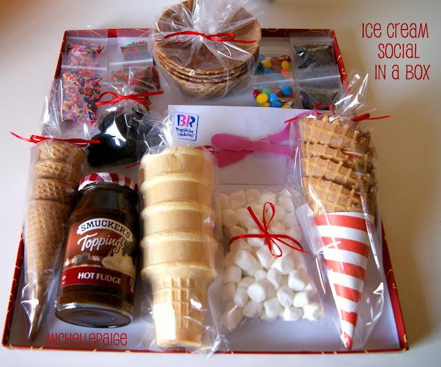 Ice Cream Social Gift