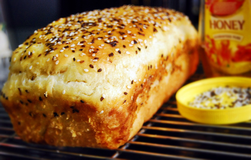 glaze challah bread easy honey sesame bread herb garlic focaccia