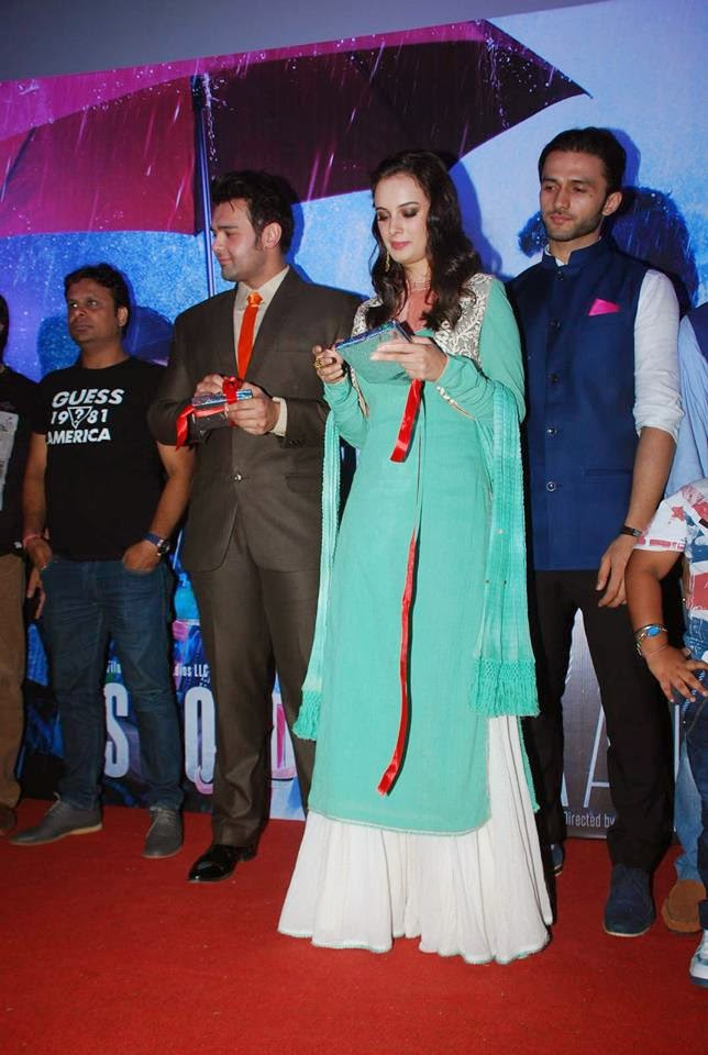 Mahaakshay Chakraborty, Evelyn Sharma at 'Ishqedarriyaan' Audio Release