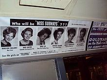 http://en.wikipedia.org/wiki/Miss_Subways