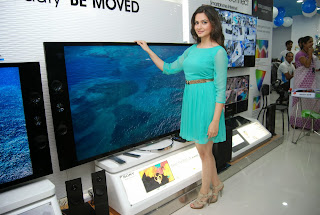 Actress Krithi Karbanda Pictures in Short Dress at Yes Mart Show Room Launch  0036.jpg