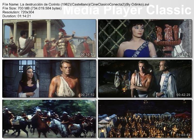 La desctrucción de Corinto 1962 - Capturas de pantalla