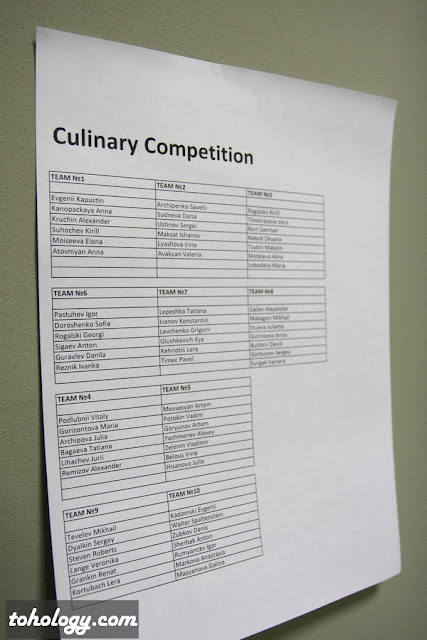 Кулинарное Состязание (Culinary Competition) в бизнес-школе swissam