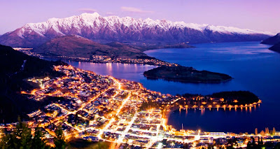 holiday in new zealand, queenstown bay