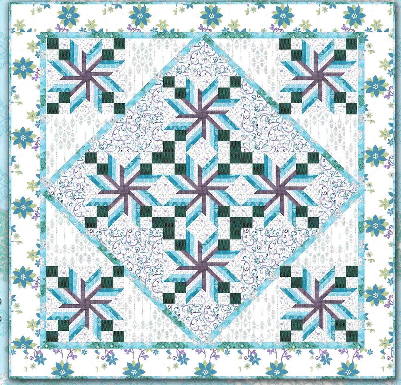 Free Snowflake Quilting Stencil : Free pattern day: Snowmen ! Quilt Inspiration Bloglovin