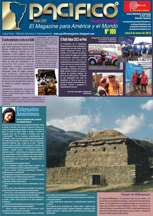 Revista Pacífico Nº 100 Arqueología