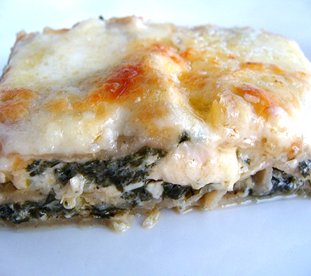 italian sausage and spinach lasagna easy spinach lasagna love and ...