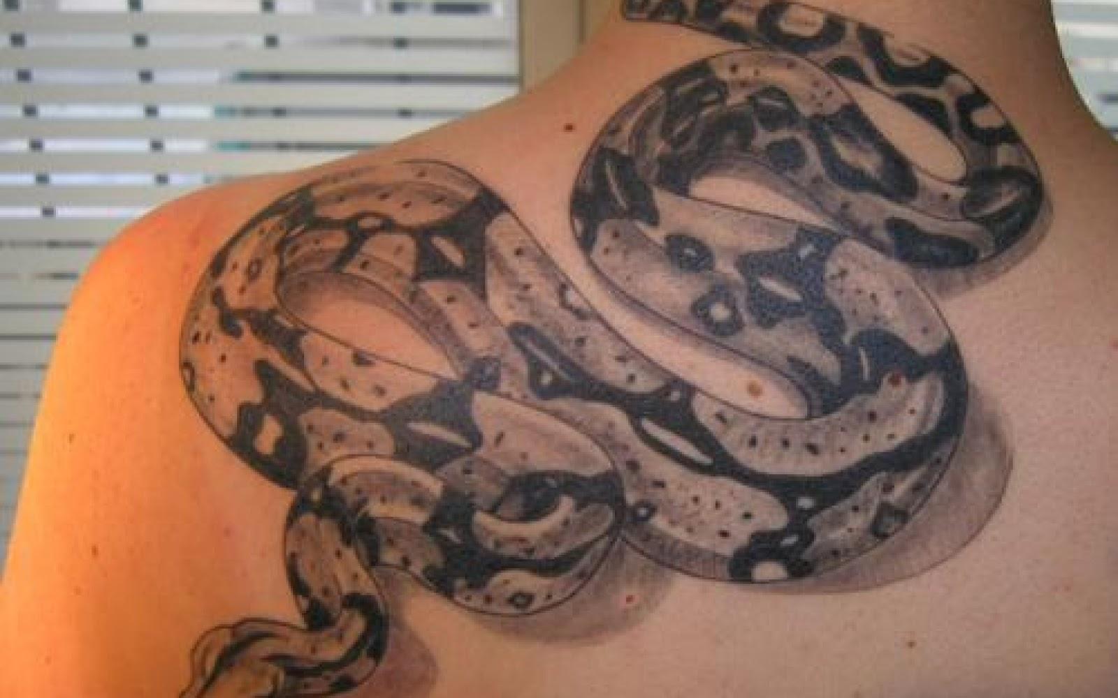 Тату реализм змея эскизы