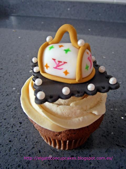 cupcakes bolso vuitton