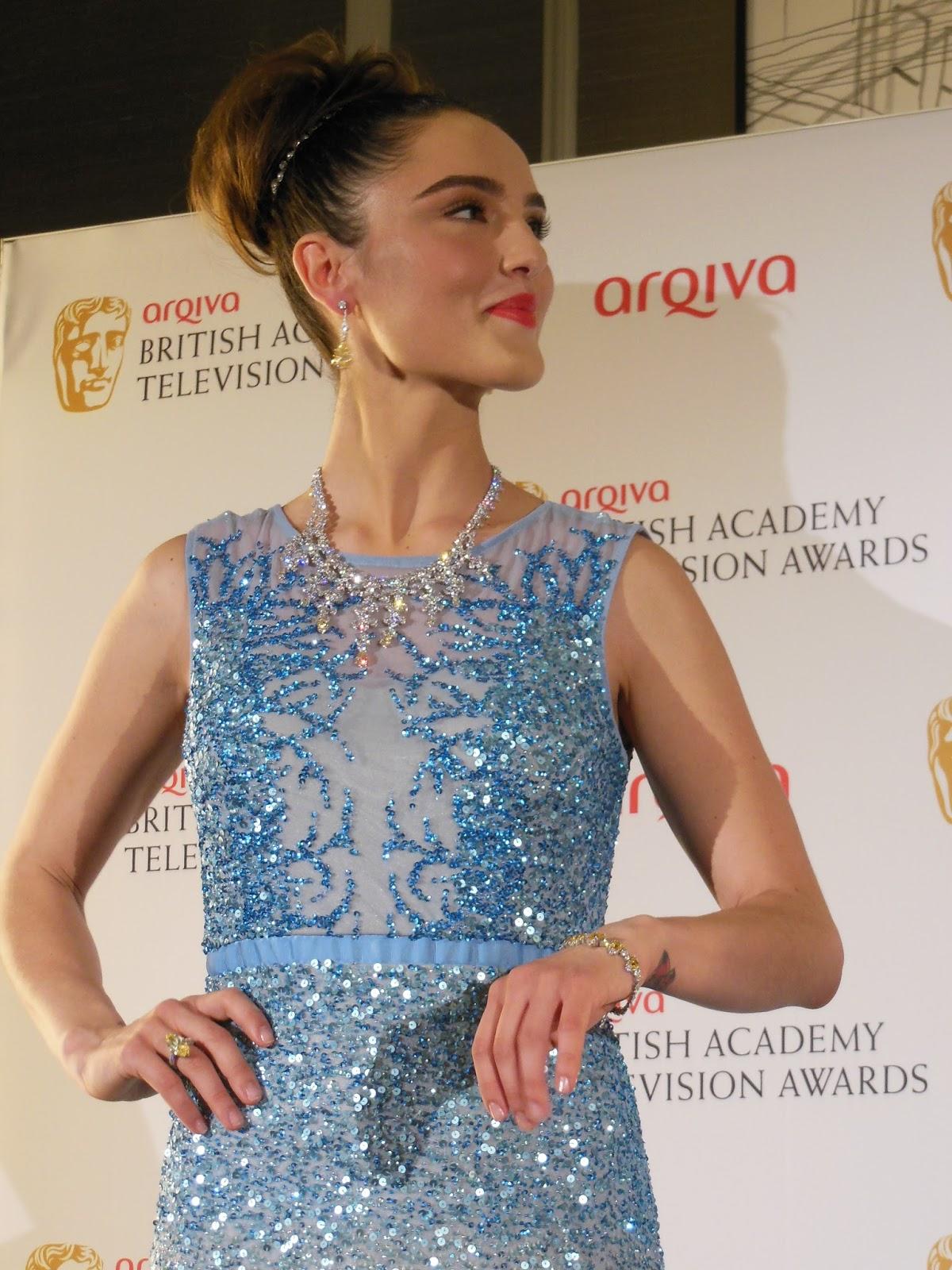 Completed BAFTA look