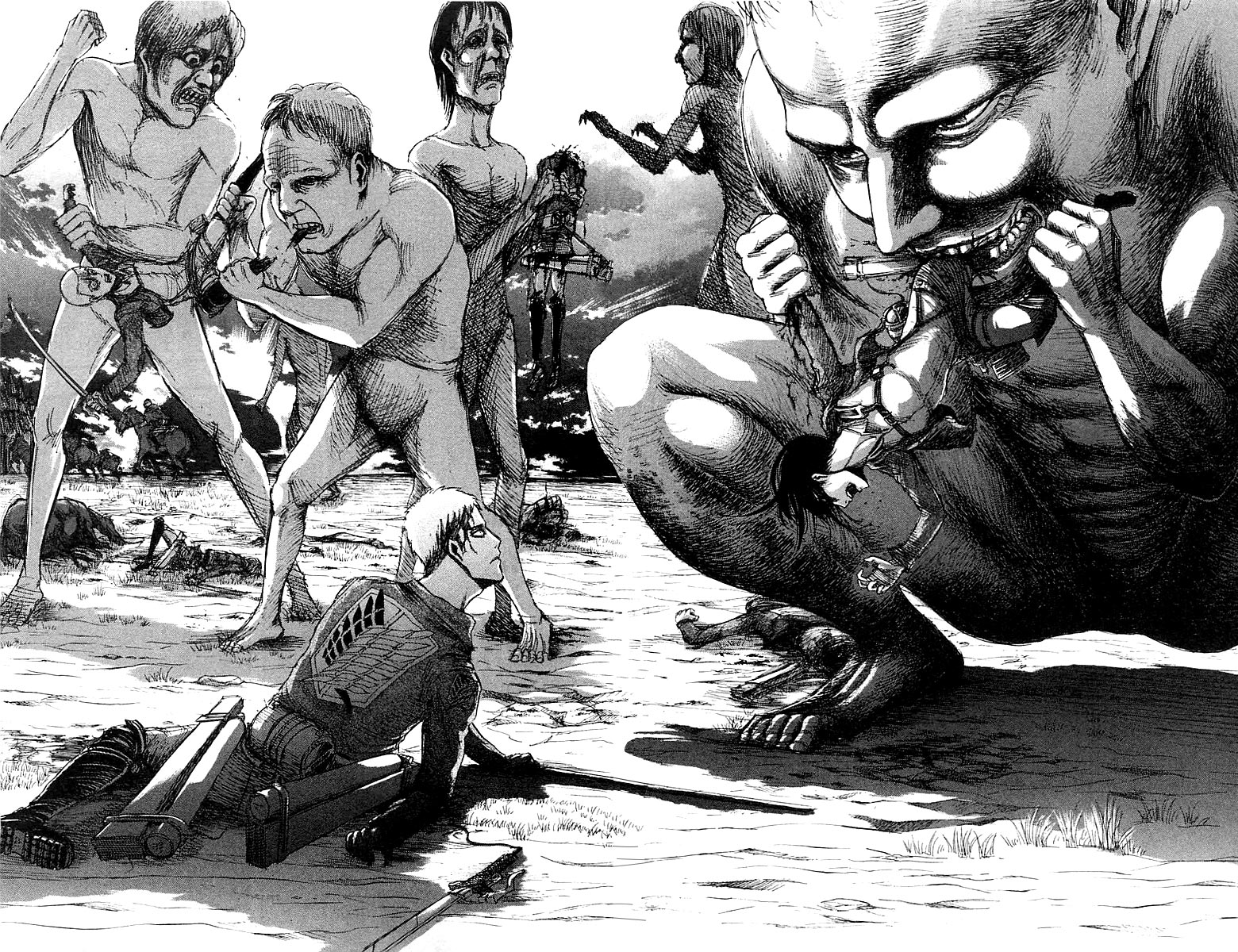 Attack on Titan chap 21 Trang 27