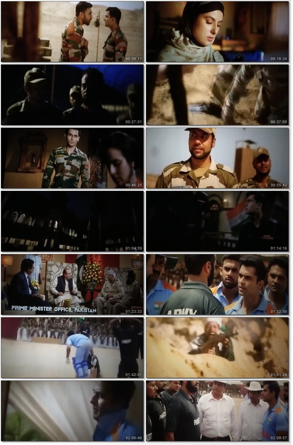 Screen Shot Of Battalion 609 2019 300MB Pdvd Full Hindi Movie Watch Online Free Download