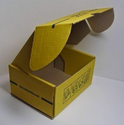 Cajas de cart n recicladas decoradas paso a paso lodijoella - Cajas de carton decoradas baratas ...