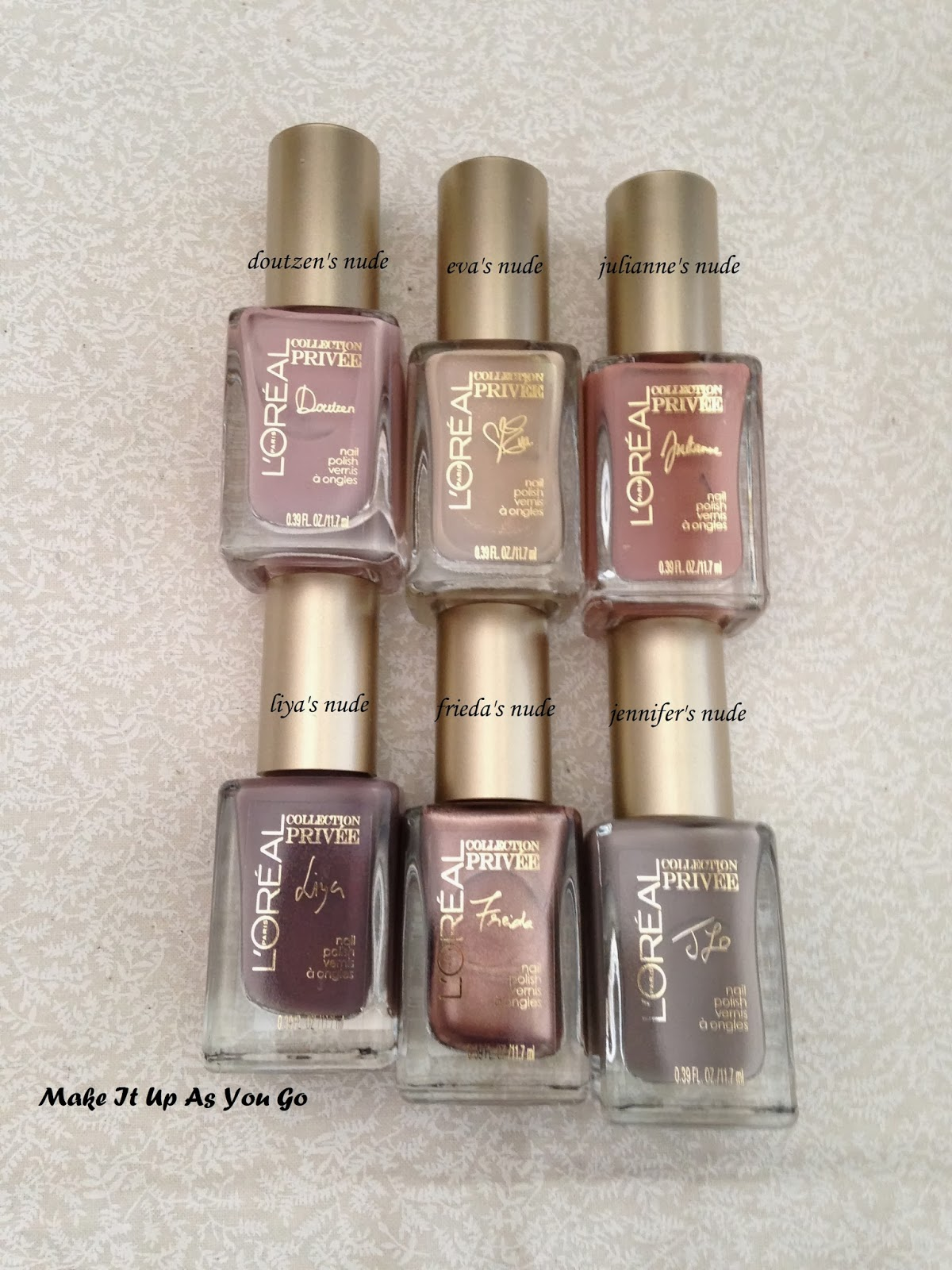 Make It Up As You Go: Nail Polish Change - L'Oreal Paris Color ...