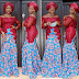 Lovely Ankara Style Mixed With Lace
