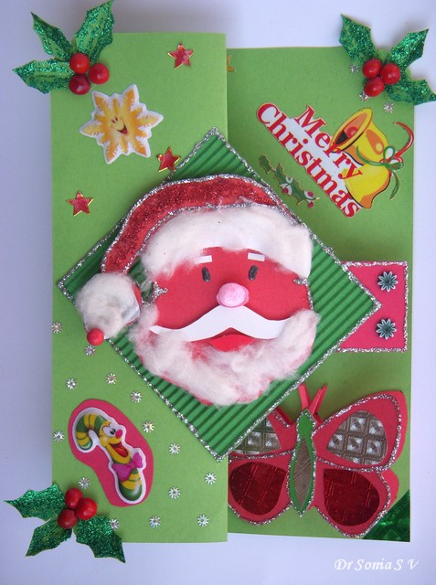 Cards Crafts Kids Projects Christmas Gifts Pop Up Card Instructions