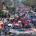 Estados/ Se suman transportistas a movilizaciones de la CNTE en Tapachula