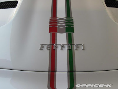 Office-K Dá uma reforma fenomenal na Ferrari 458 Spider