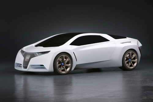 ... Potential Of Hondau0027s V Flow Fuel Cell Technology   Already Deployed In  The Honda FCX Clarity Sedan   And Reconfigures It Into A Lightweight Sports  Car ...