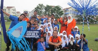 Biru Juara! ~ Sekolah Rendah Islam ABIM Sungai Ramal