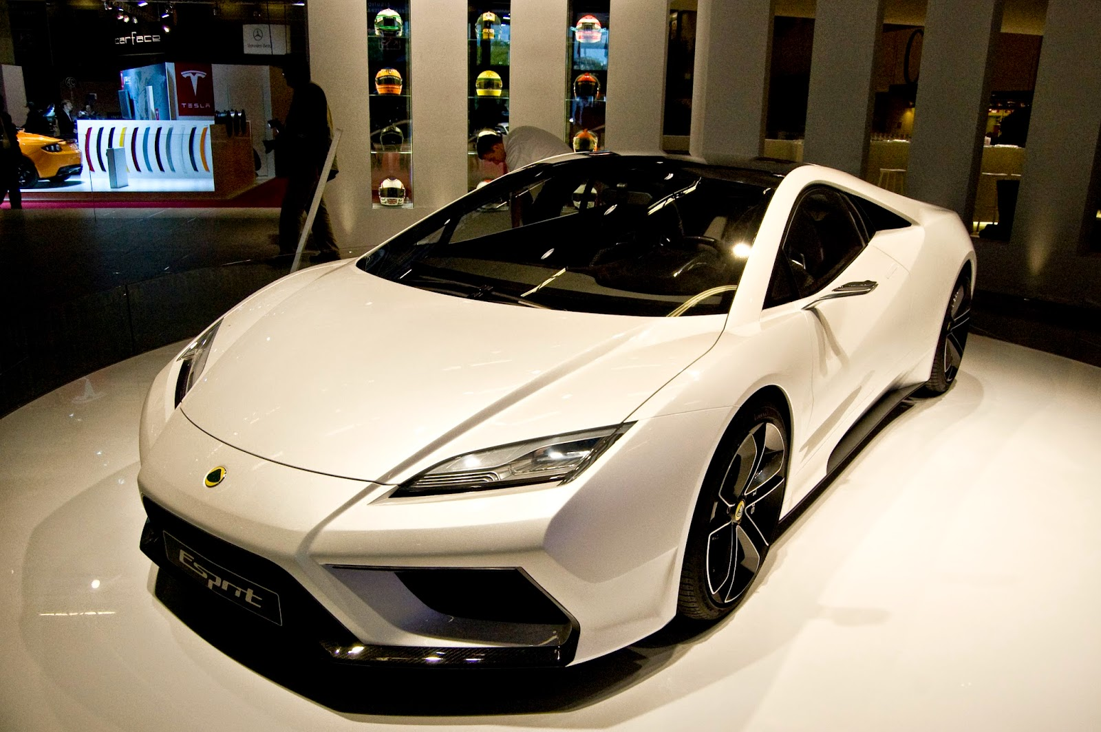 Proposed new Lotus Esprit (now cancelled)