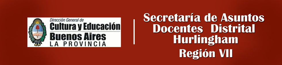 Secretaría de Asuntos Docentes Distrital Hurlingham