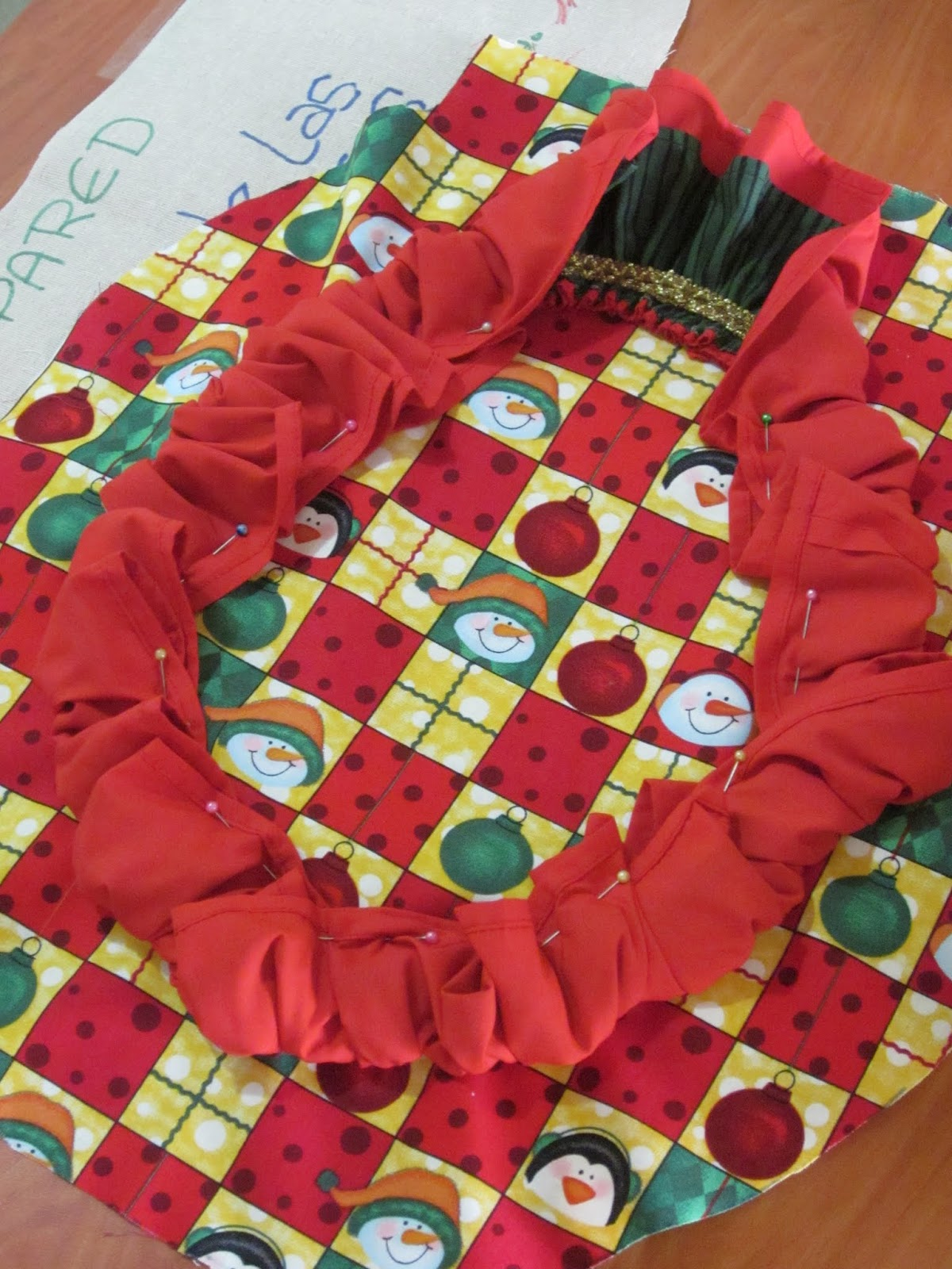 Lenceria De Baño Navidad:Confección de Juego de Baño para Navidad