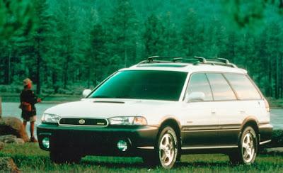 Subaru Outback, Subaru SVX punto es