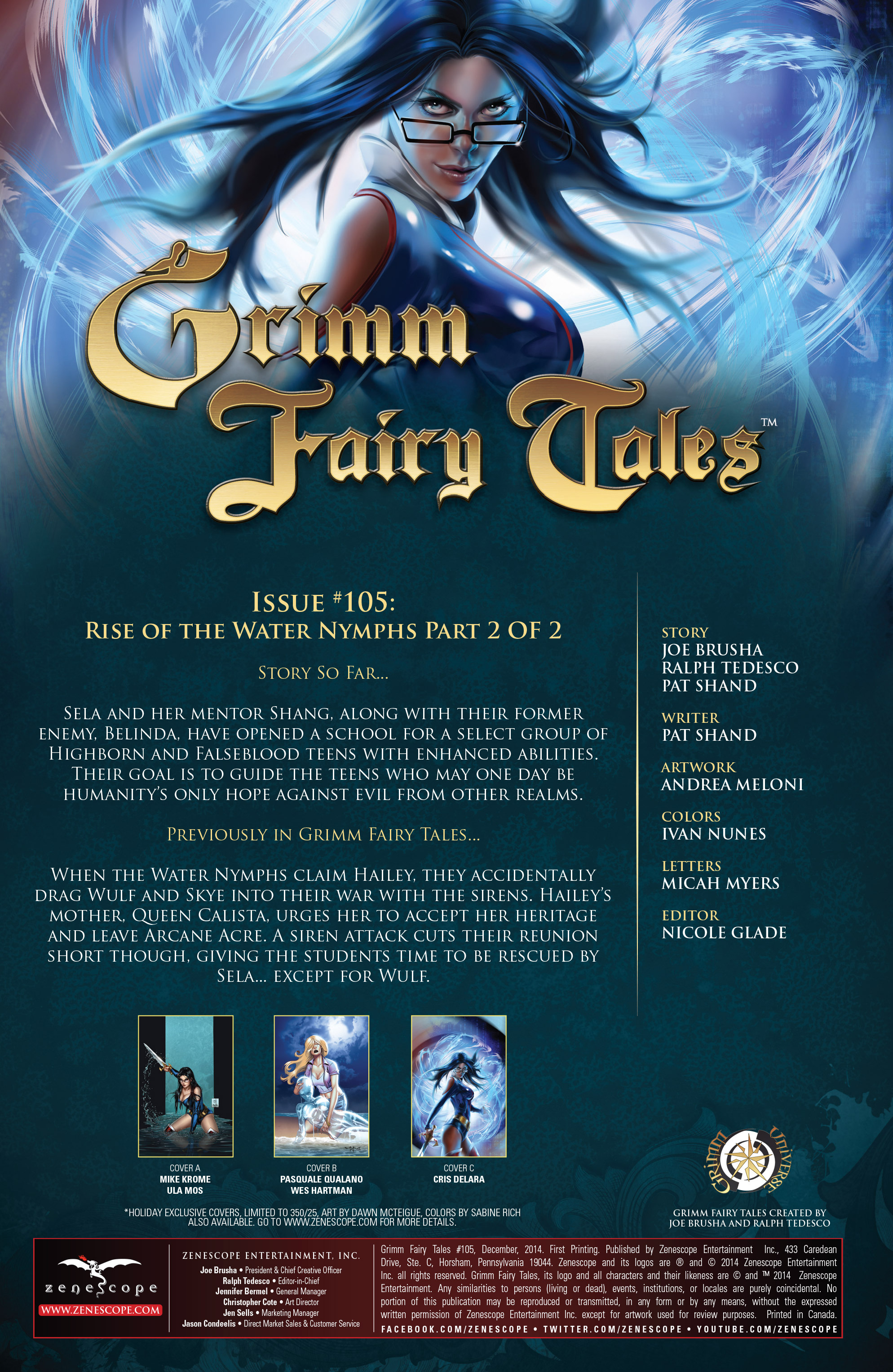 Grimm Fairy Tales (2005) Issue #105 #108 - English 2