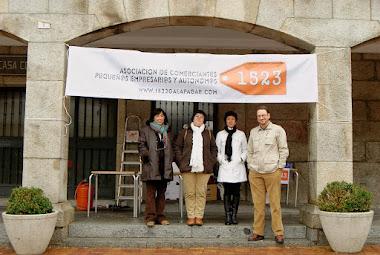 Nuestra presentación al municipio en Noviembre de 2009