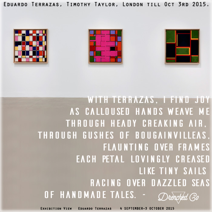 Image of Timothy Taylor London with Exhibition review by DrenchedCo