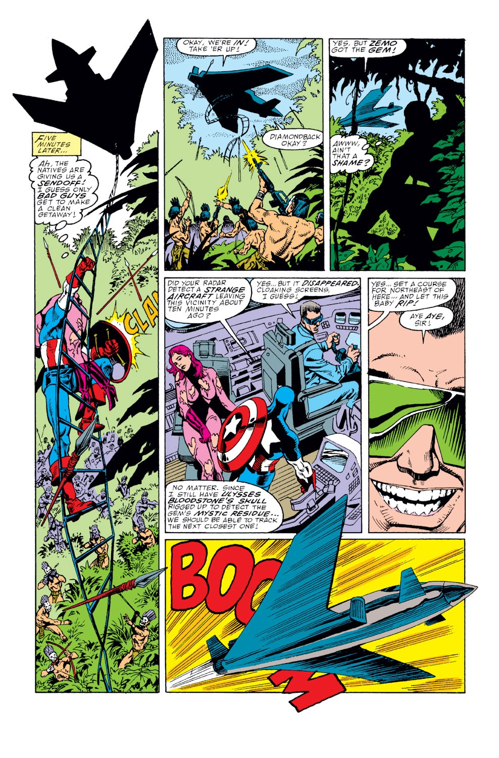 Captain America (1968) Issue #359 #292 - English 12