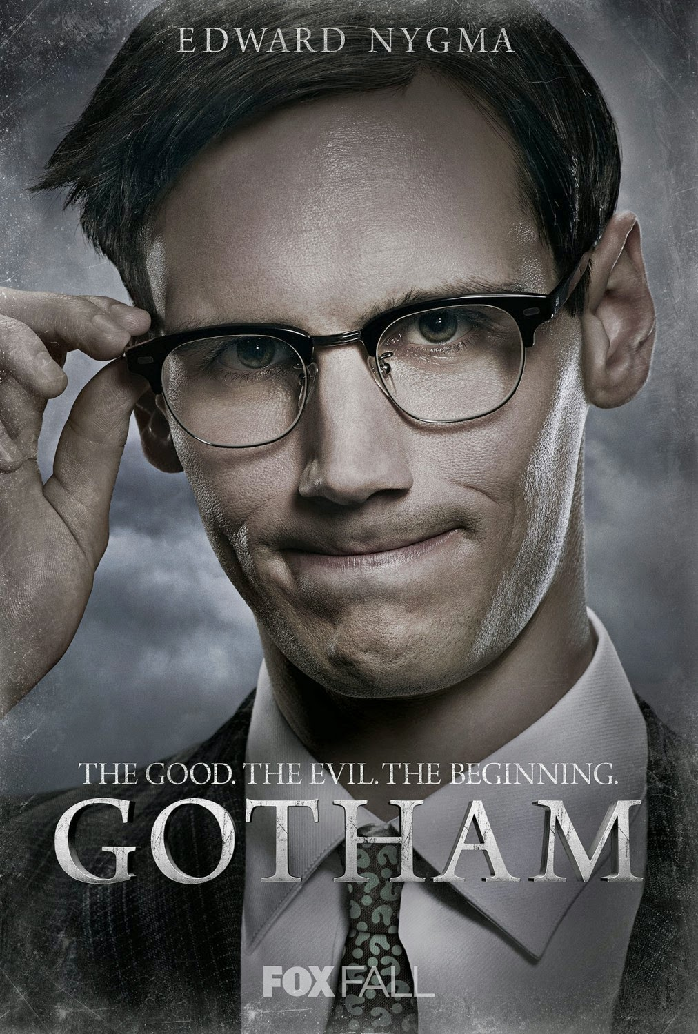"Gotham ""The Good. The Evil. The Beginning."" Character TV Poster Set - Cory Michael Smith as Edward Nygma-The Riddler"