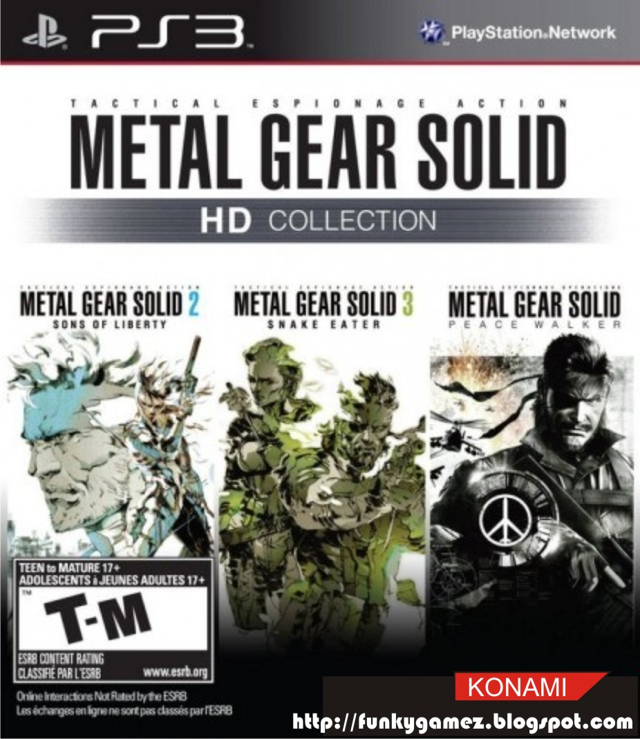 Metal Gear Solid HD Collection  OT  The Naked, the Solid