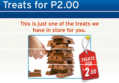 Citibank 2-Peso (P2.00) Treat