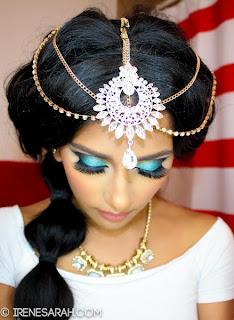 Princess Jasmine ♔ Makeup & Hair Tutorial!