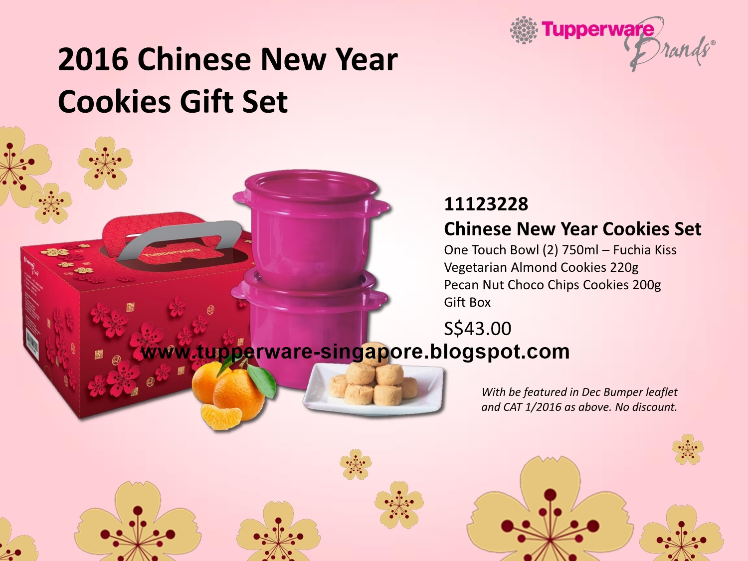 Buy Tupperware in Singapore Chinese New Year Cookies