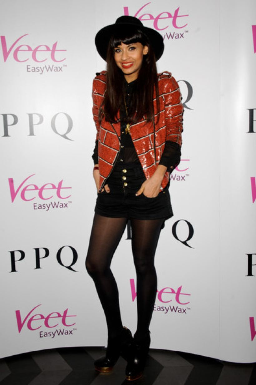 Jameela Jamil During Lfw February 2012