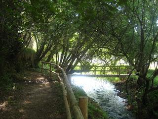 Uno de los puentes en la ruta de los Estrechos del Río Ebrón