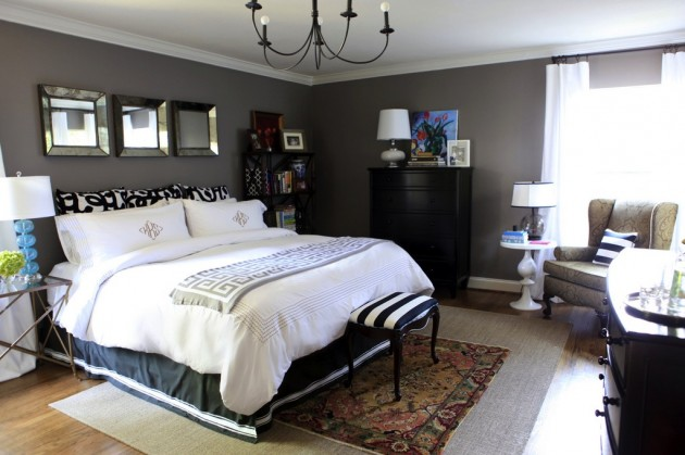Gray Walls Bedroom Decorating Ideas 630 x 419