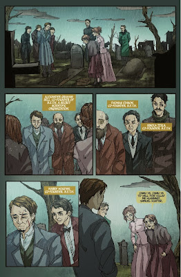 Download Boston Metaphysical Society Comic Book CBR