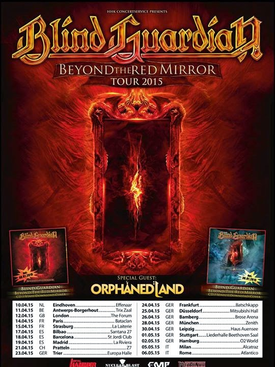 Beyond the Red Mirror Tour