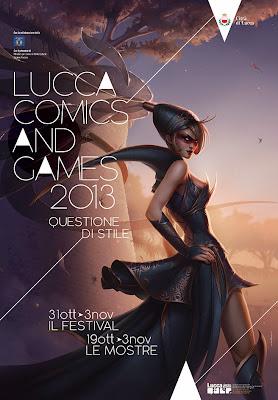 """Lucca Comics & Games 2013 - manifesto """"questione di stile"""""""